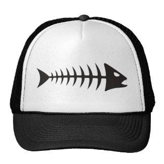 Fishbone - muestras de espiga gorras de camionero
