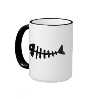 Fishbone Ringer Mug