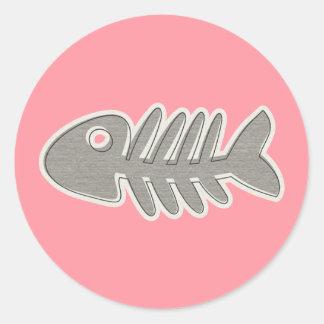 Fishbone Sticker