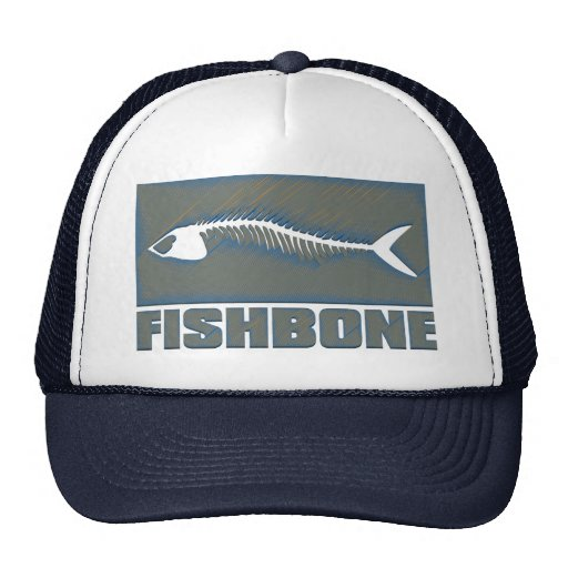FISHBONE TRUCKER HAT