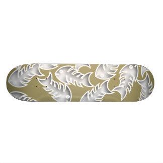 Fishbones Olive Skateboard