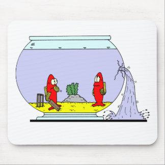 Fishbowl Cricket Mouse Pad
