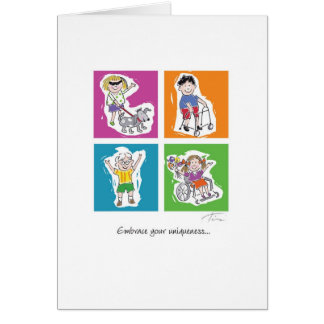 Fishbowl Friends Card