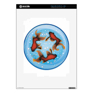 FISHBOWL iPad 2 DECAL