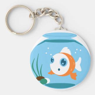 FishBowl Keychain