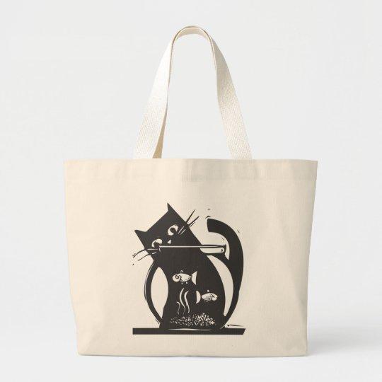 Fishbowl Large Tote Bag