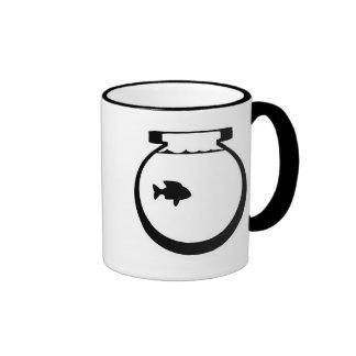 Fishbowl Muggary Ringer Coffee Mug