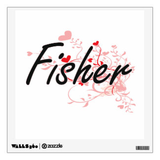 Fisher Artistic Job Design with Hearts Wall Skins