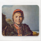 Fisher boy mouse pad