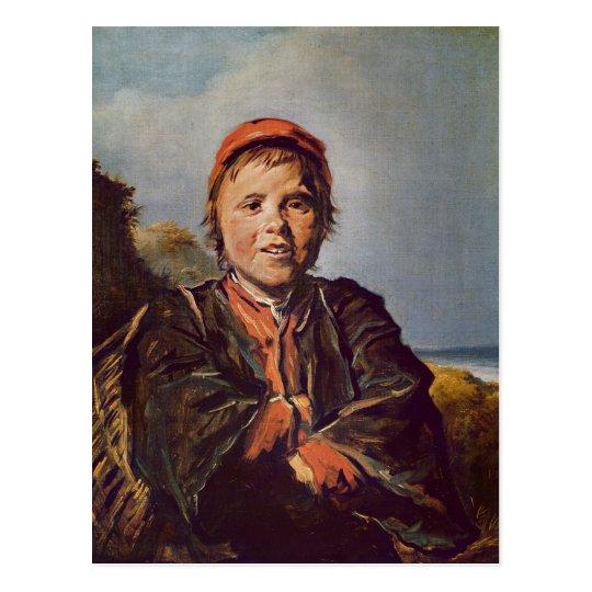 Fisher boy postcard