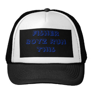 Fisher Boyz Run This Trucker Hat