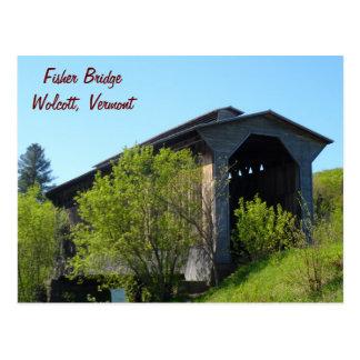 Fisher Bridge- Vermont Postcard