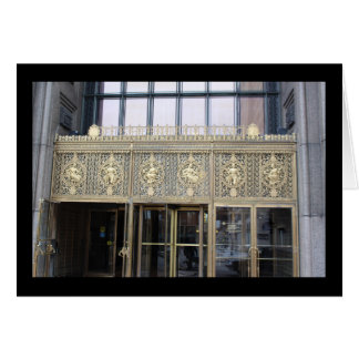Fisher Building, Detroit, Michigan Note card