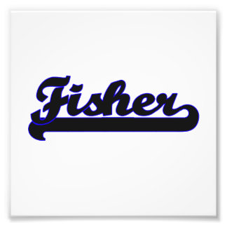 Fisher Classic Job Design Photo Print