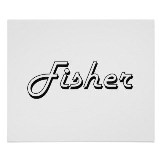 Fisher Classic Job Design Poster