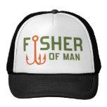 Fisher del hombre gorra