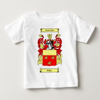 Fisher (English) Coat of Arms Tee Shirt