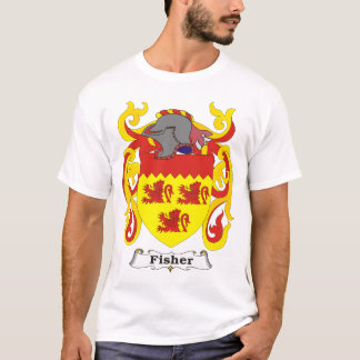 Fisher Family Coat of Arms T-shirt