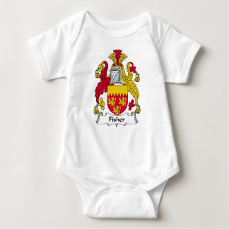 Fisher Family Crest Baby Bodysuit