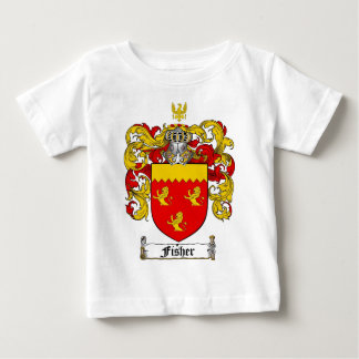 FISHER FAMILY CREST -  FISHER COAT OF ARMS T SHIRT
