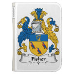 Fisher Family Crest Kindle Keyboard Case