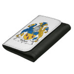 Fisher Family Crest Leather Wallet For Women