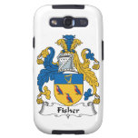 Fisher Family Crest Samsung Galaxy SIII Covers