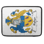 Fisher Family Crest Sleeve For MacBook Pro