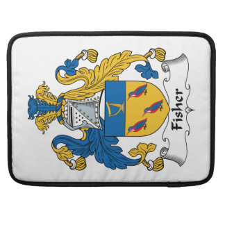 Fisher Family Crest Sleeves For MacBook Pro