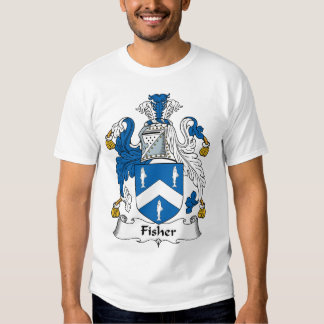 Fisher Family Crest T-shirt
