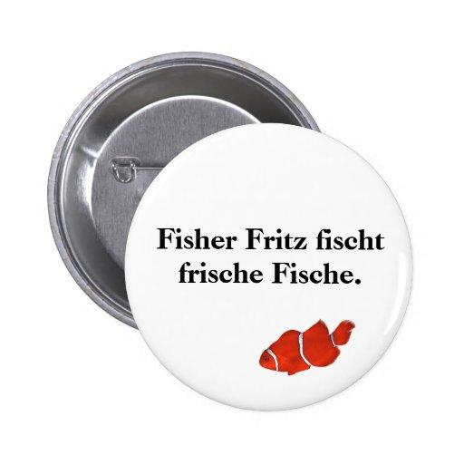 Fisher Fritz fischt frische Fische. Button