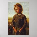 Fisher girl, 1874 poster
