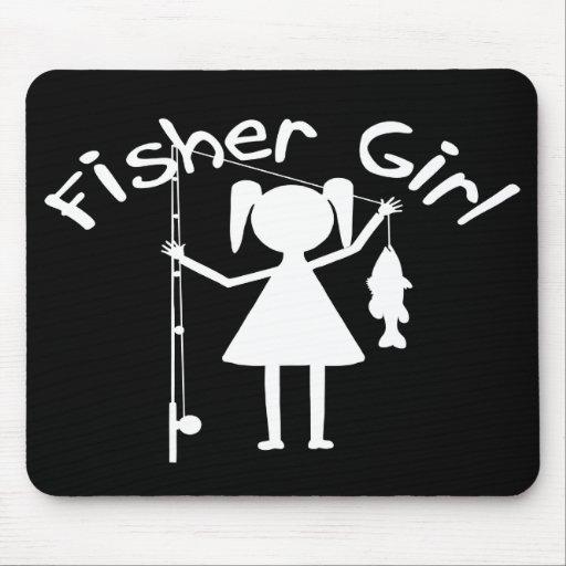 FISHER GIRL MOUSEPAD