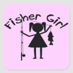 FISHER GIRL STICKERS