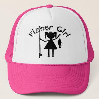 FISHER GIRL TRUCKER HAT