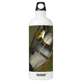Fisher in Asia from above Aluminum Water Bottle