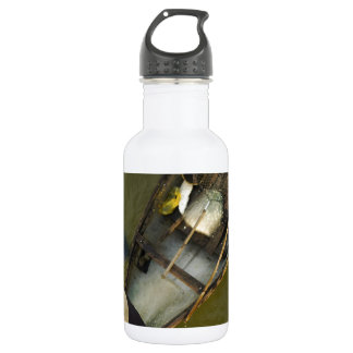 Fisher in Asia from above Water Bottle