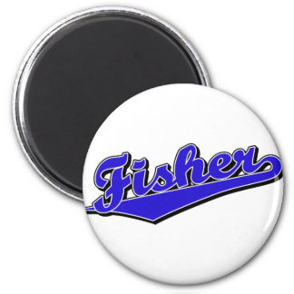 Fisher in Blue Magnet