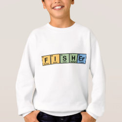 Kids' American Apparel Organic T-Shirt with Fisher design