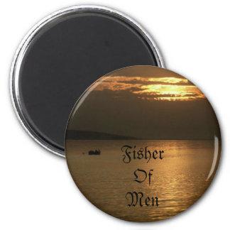 Fisher Of Men 2 Inch Round Magnet
