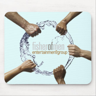 Fisher of Men Entertainment Group - Blue Mouse Pad