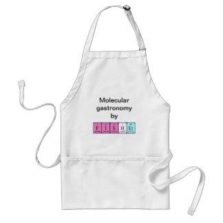 Fisher periodic table name apron