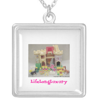 Fisher Price Castle Classic Toy Necklace