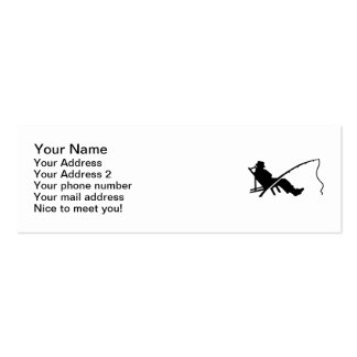 Fisher rod sleeping business cards