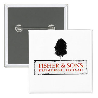 Fisher & Sons Funeral Home Pinback Buttons