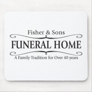 Fisher & Sons Funeral Home Mouse Mat