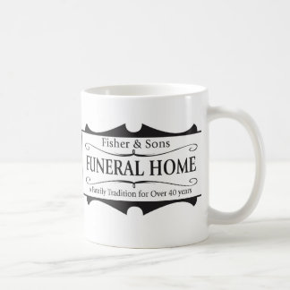 Fisher & Sons Funeral Home Classic White Coffee Mug