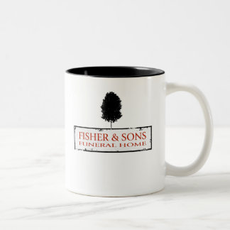 Fisher & Sons Funeral Home Two-Tone Coffee Mug