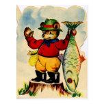 Fisherbear con su captura del día