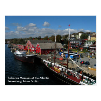 Fisheries Museum of the Atlantic, Aerial View Postcard